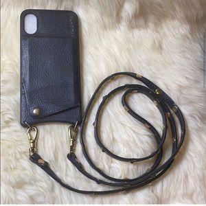 Bandolier - iPhone X - Sarah Leather Phone Case